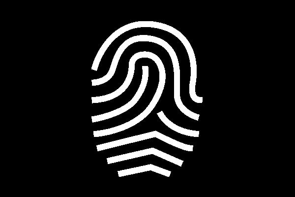 Unikate Symbol, Fingerabdruck