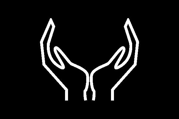 Reintegration Hände, Symbol