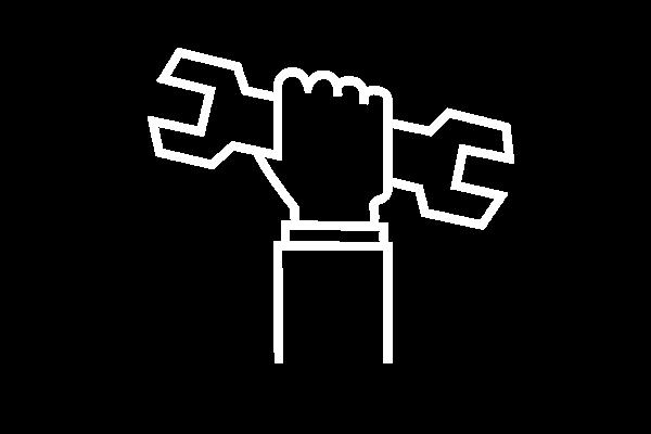 Handwerk Symbol, Schraubenschlüssel